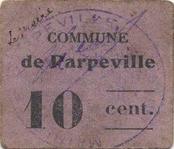 10 Centimes FRANCE régionalisme et divers PARPEVILLE 1916 JP.02-2681 TTB