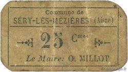 25 Centimes FRANCE régionalisme et divers SERY-LES-MEZIERES 1916 JP.02-2713 TB