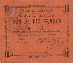 10 Francs FRANCE régionalisme et divers  1915 JP.02-2728 TTB