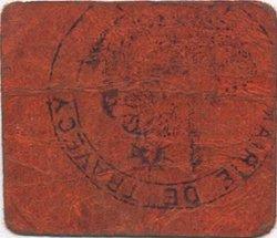 5 Centimes FRANCE régionalisme et divers TRAVECY 1916 JP.02-2732 TB+