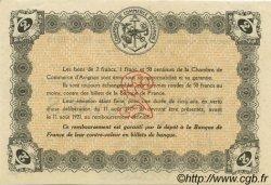 2 Francs FRANCE régionalisme et divers AVIGNON 1915 JP.018.08 SPL