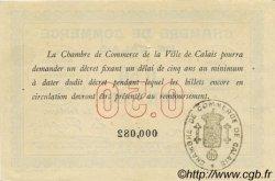 50 Centimes FRANCE régionalisme et divers CALAIS 1914 JP.036.01 SUP+