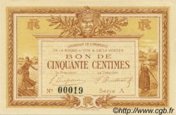 50 Centimes FRANCE régionalisme et divers La Roche-Sur-Yon 1915 JP.065.01 NEUF