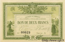 2 Francs FRANCE régionalisme et divers LA ROCHE-SUR-YON 1915 JP.065.10 NEUF