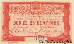 25 Centimes FRANCE régionalisme et divers LE TRÉPORT 1915 JP.071.04 NEUF