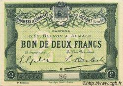 2 Francs FRANCE régionalisme et divers Le Tréport 1915 JP.071.07 pr.NEUF