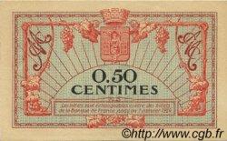 50 Centimes FRANCE régionalisme et divers MONTPELLIER 1921 JP.085.22 pr.NEUF