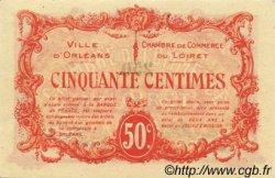 50 Centimes FRANCE régionalisme et divers ORLÉANS 1915 JP.095.04 pr.NEUF