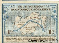 1 Franc FRANCE régionalisme et divers ORLÉANS ET BLOIS 1920 JP.096.03 NEUF