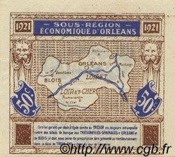 50 Centimes FRANCE régionalisme et divers ORLÉANS ET BLOIS 1921 JP.096.05 NEUF