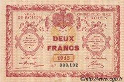 2 Francs FRANCE régionalisme et divers ROUEN 1915 JP.110.13 NEUF