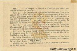 2 Francs FRANCE régionalisme et divers ROUEN 1916 JP.110.25 SPL