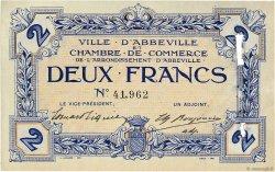2 Francs FRANCE régionalisme et divers Abbeville 1920 JP.001.05 SUP