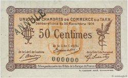 50 Centimes FRANCE régionalisme et divers Albi - Castres - Mazamet 1914 JP.005.02 SUP+