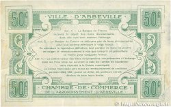 50 Centimes FRANCE régionalisme et divers ABBEVILLE 1920 JP.001.01 TB