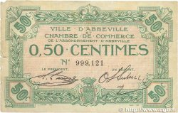 50 Centimes FRANCE régionalisme et divers ABBEVILLE 1920 JP.001.01 B