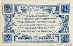 2 Francs FRANCE régionalisme et divers ABBEVILLE 1920 JP.001.05 TTB+