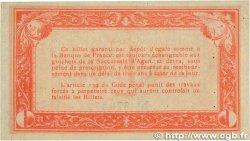 1 Franc FRANCE régionalisme et divers Agen 1914 JP.002.03 SUP+