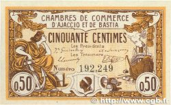 50 Centimes FRANCE régionalisme et divers AJACCIO ET BASTIA 1915 JP.003.01 pr.NEUF