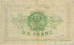 1 Franc FRANCE régionalisme et divers ALBI - CASTRES - MAZAMET 1914 JP.005.05 pr.TTB