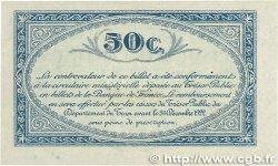 50 Centimes FRANCE régionalisme et divers ALBI - CASTRES - MAZAMET 1917 JP.005.09 SUP