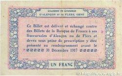 1 Franc FRANCE régionalisme et divers Alencon et Flers 1915 JP.006.06 TTB+
