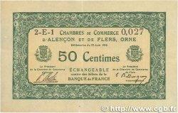 50 Centimes FRANCE régionalisme et divers Alencon et Flers 1915 JP.006.16 TTB+