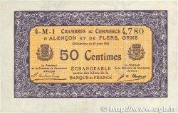 50 Centimes FRANCE régionalisme et divers ALENCON ET FLERS 1915 JP.006.37 TTB+