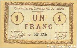 1 Franc FRANCE régionalisme et divers AMIENS 1915 JP.007.08 SUP+