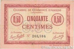 50 Centimes FRANCE régionalisme et divers Amiens 1915 JP.007.14 TTB+