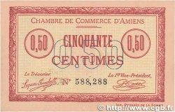 50 Centimes FRANCE régionalisme et divers Amiens 1915 JP.007.26 pr.SPL