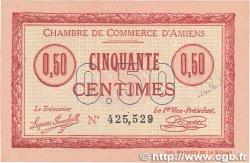 50 Centimes FRANCE régionalisme et divers Amiens 1915 JP.007.26 SUP+
