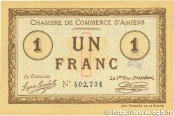 1 Franc FRANCE régionalisme et divers Amiens 1915 JP.007.30 SUP
