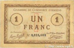 1 Franc FRANCE régionalisme et divers AMIENS 1915 JP.007.36 pr.TTB
