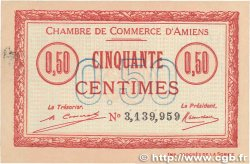 50 Centimes FRANCE régionalisme et divers AMIENS 1920 JP.007.49 SUP+