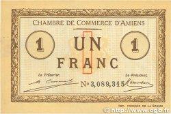 1 Franc FRANCE régionalisme et divers AMIENS 1920 JP.007.51 SUP+