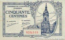50 Centimes FRANCE régionalisme et divers Amiens 1922 JP.007.55 SUP