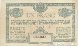 1 Franc FRANCE régionalisme et divers Amiens 1922 JP.007.56 TTB+