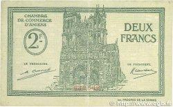2 Francs FRANCE régionalisme et divers AMIENS 1922 JP.007.57 TTB