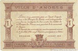 1 Franc FRANCE régionalisme et divers Angers 1915 JP.008.06 TTB+