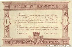 1 Franc FRANCE régionalisme et divers Angers 1915 JP.008.07 TTB