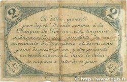 2 Francs FRANCE régionalisme et divers ANGOULÊME 1915 JP.009.12 B