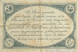 50 Centimes FRANCE régionalisme et divers Angoulême 1915 JP.009.23 TTB