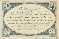 50 Centimes FRANCE régionalisme et divers Angoulême 1915 JP.009.20 SUP