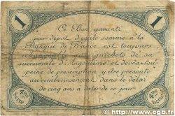 1 Franc FRANCE régionalisme et divers ANGOULÊME 1915 JP.009.21 B