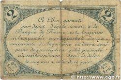 2 Francs FRANCE régionalisme et divers Angoulême 1915 JP.009.22 B