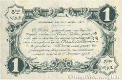 1 Franc FRANCE régionalisme et divers ANGOULÊME 1917 JP.009.42