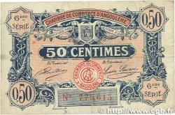 50 Centimes FRANCE régionalisme et divers Angoulême 1920 JP.009.46 pr.TTB