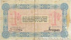 1 Franc FRANCE régionalisme et divers Annecy 1915 JP.010.01 TTB