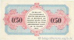 50 Centimes FRANCE régionalisme et divers ANNECY 1917 JP.010.09 SUP+